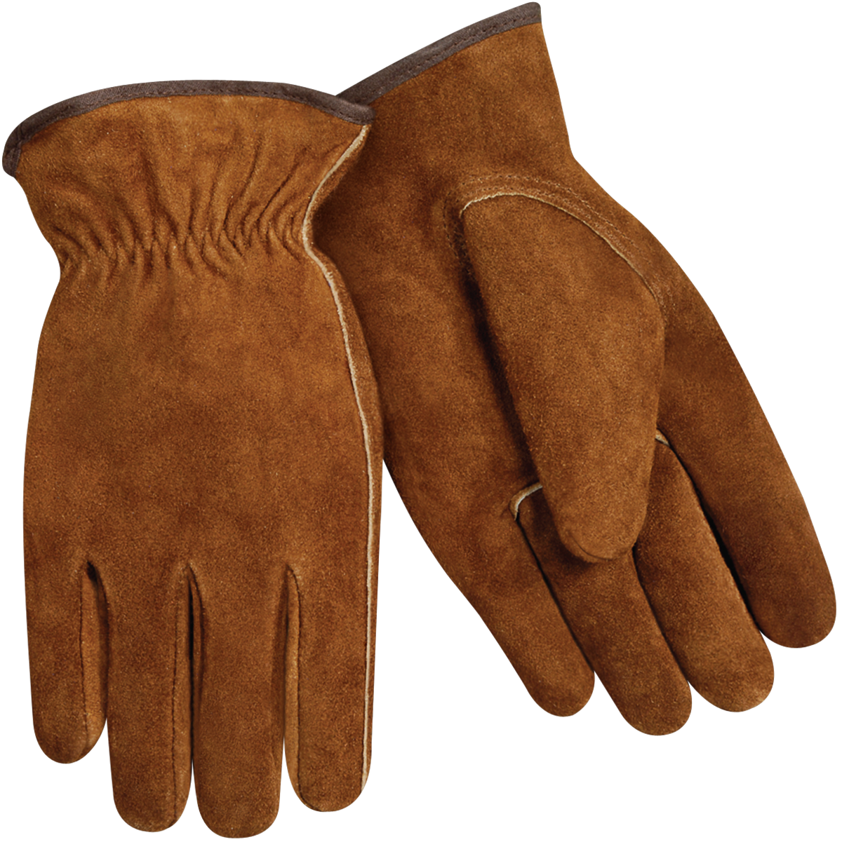 Split Cowhide Winter Gloves With Heavy Pile Insulated