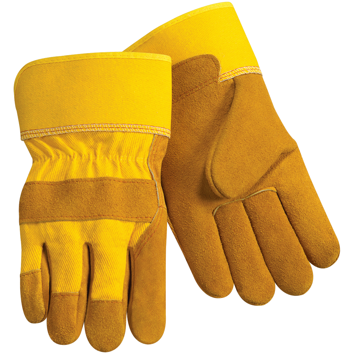 3pk wolverine leather work gloves extra large - Large Trade Master Mesh Fabric And Leather Work Gloves