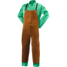 Steiner Leather Split Leg Bib Apron 92172