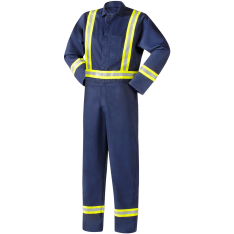 Steiner Weldlite Flame Retardant Cotton Reflective Stripes Coveralls 1065rs