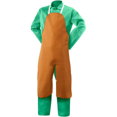 Steiner Weldlite Flame Retardant Cotton Split Leg Bib Apron 10136
