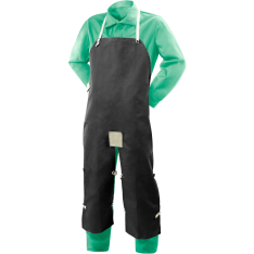 Steiner Weldlite Flame Retardant Cotton Split Leg Bib Apron 10872
