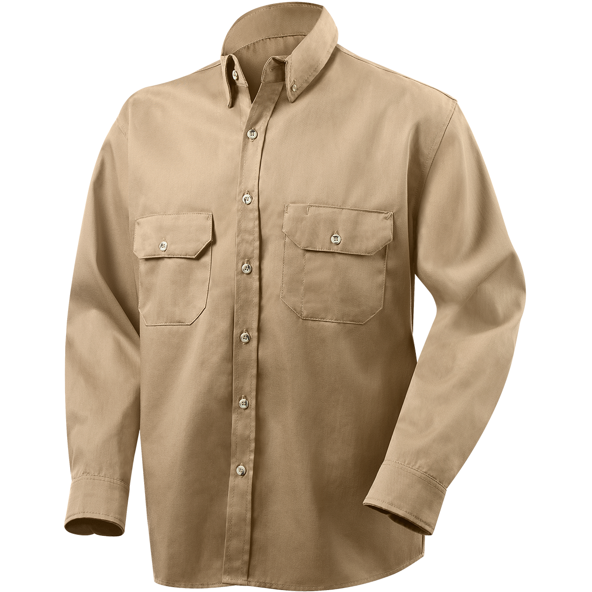 c2087ba703a9 1190AF Arc ProTech™ 7 oz Cotton Nylon Blend Arc Resistant Shirts - Khaki