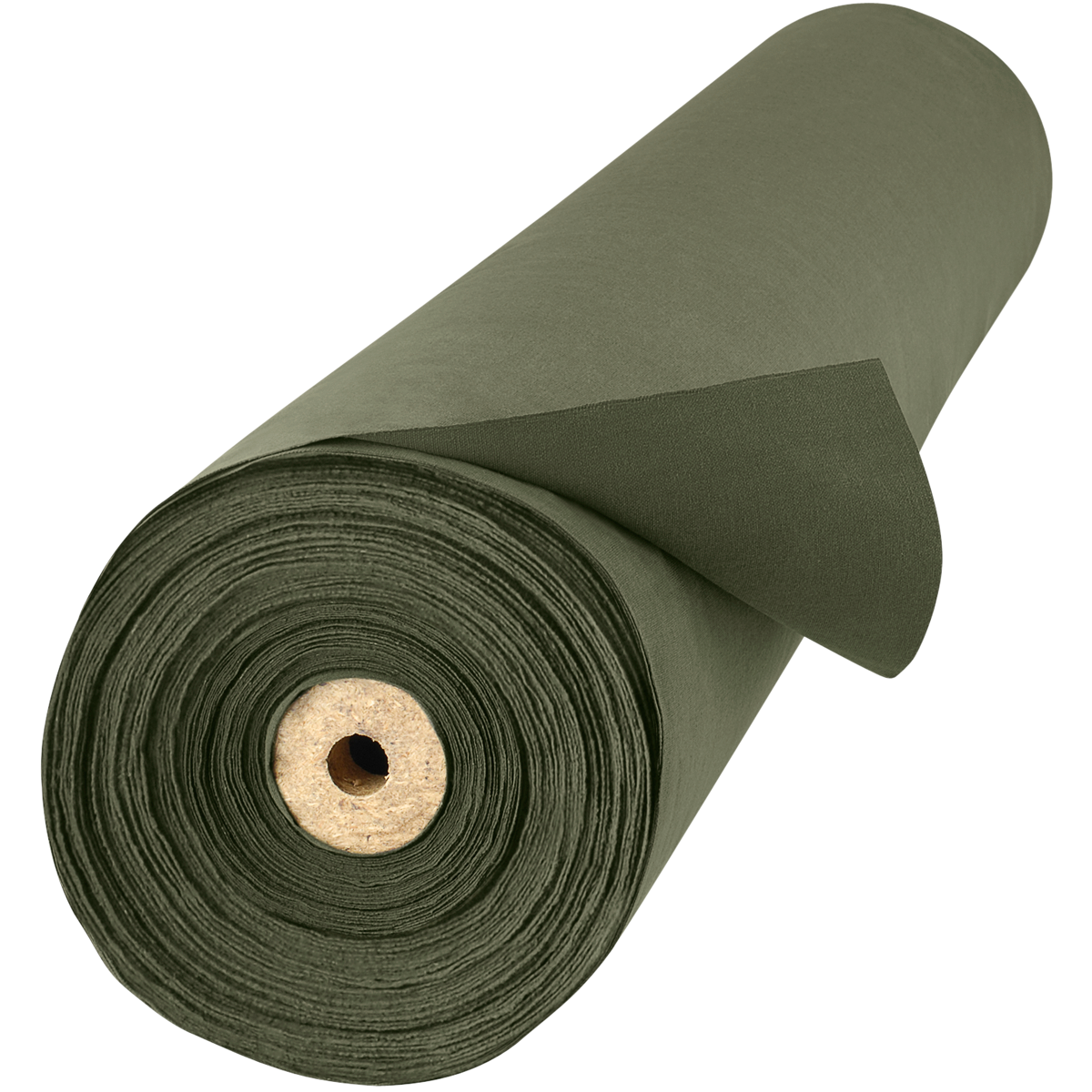 12 Oz Flame Retardant Canvas Duck Welding Curtain Olive
