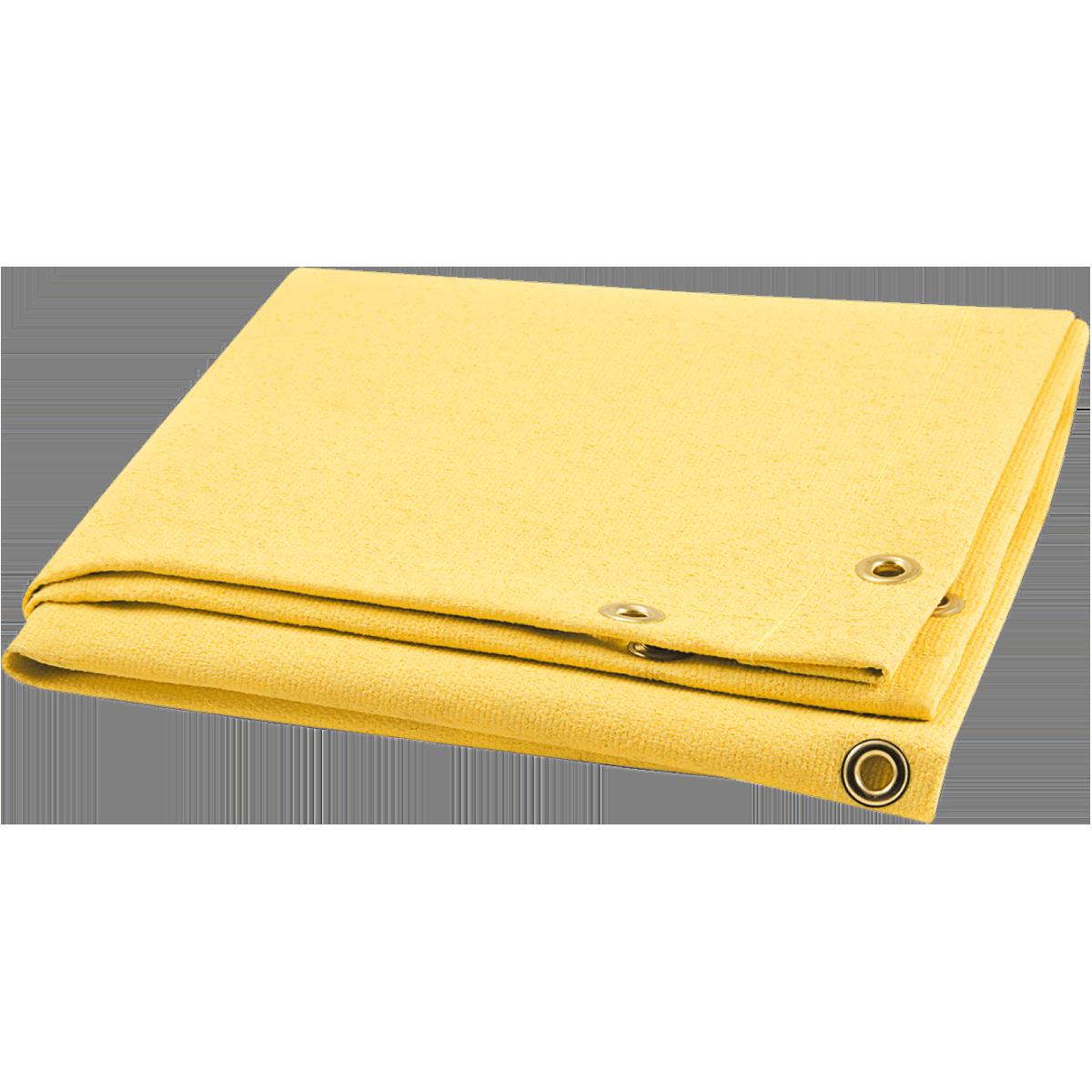 BW Blanket 24OZ ACRYLICCOATED Glass 6X8 Yellow