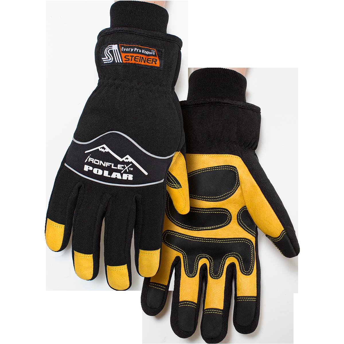 Ironflex 174 Polar Grain Pigskin Winter Gloves With Heatloc