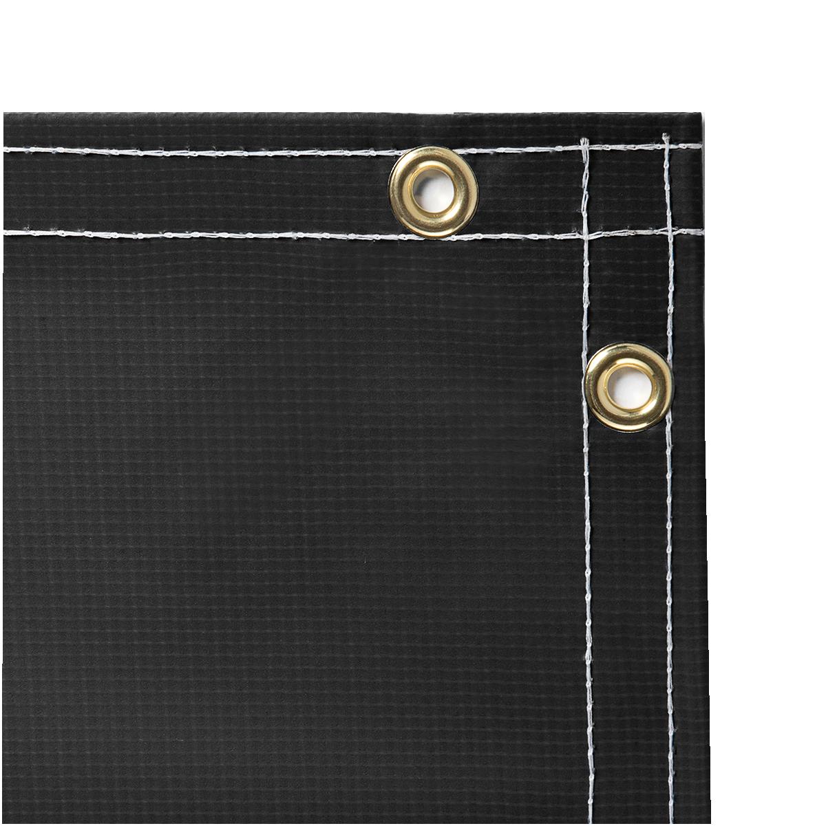13 Oz Flame Retardant Vinyl Laminated Polyester Black