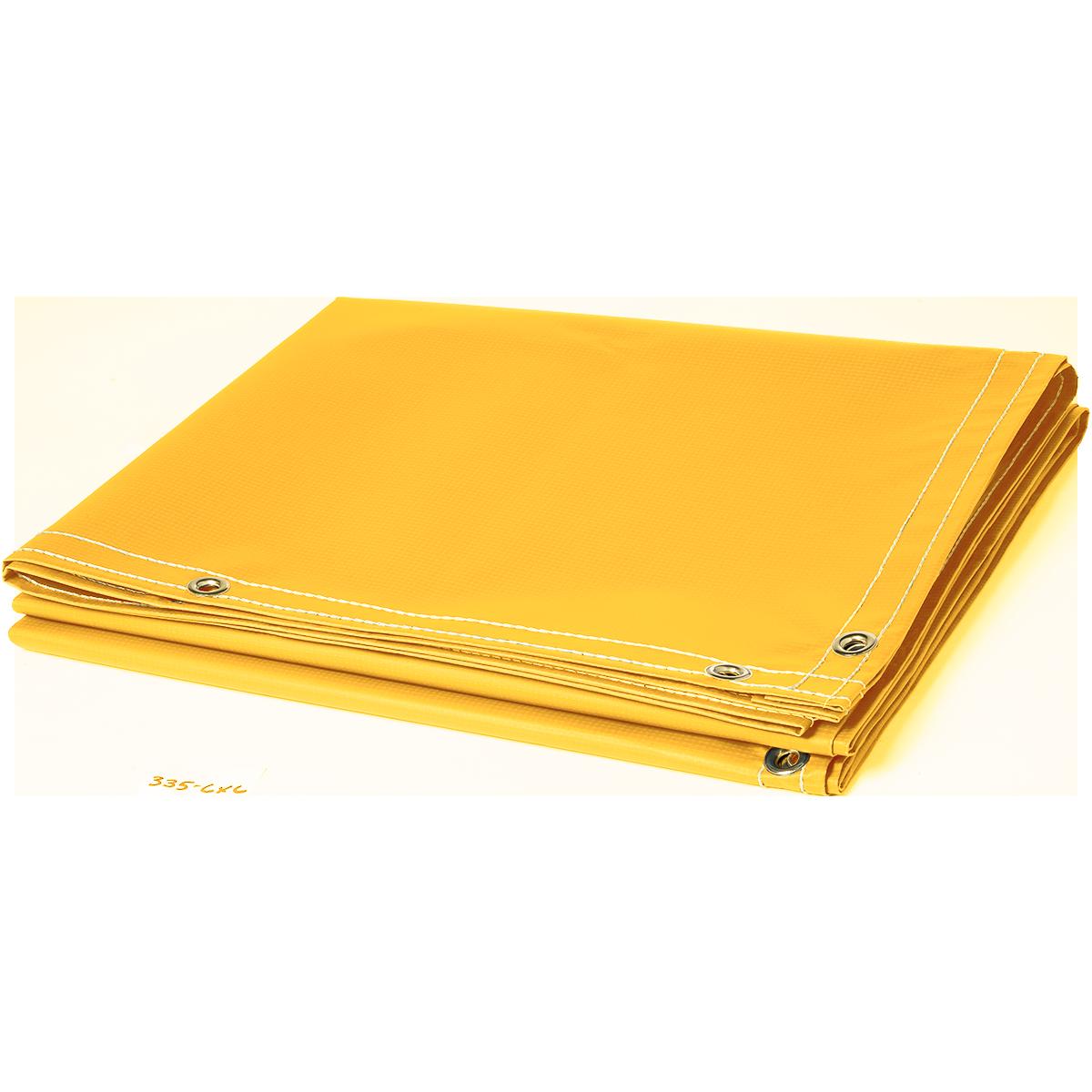 13 Oz Flame Retardant Vinyl Laminated Polyester Yellow