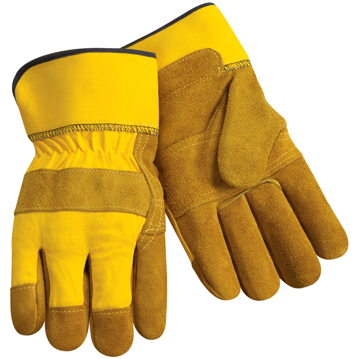 Standard Split Cowhide Leather Palm Work Gloves