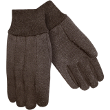Steiner Cotton Brown Jersey Dotted Glove 00194