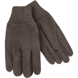 Steiner Cotton Brown Jersey Glove 00192