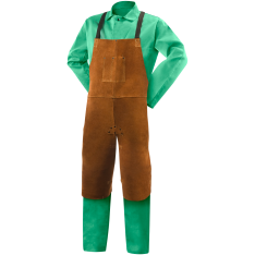 Steiner Leather Split Leg Bib Apron 92170