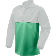 Steiner Weldlite Flame Retardant Cotton Cape Sleeve Bib 10315