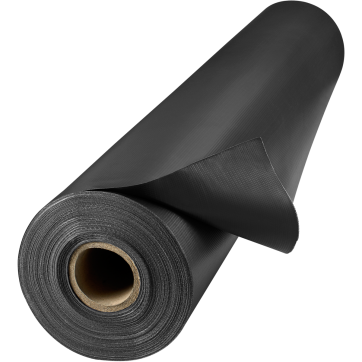 13 Oz Flame Retardant Vinyl Laminated Polyester Black